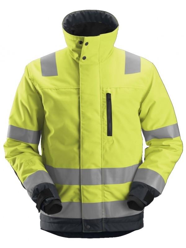 Veste de travail isolante 37.5® haute visibilité, AllroundWork, Classe 3