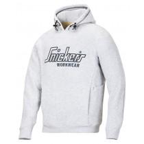 Sweat-shirt à capuche avec MultiPockets blanc