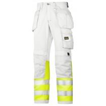 Pantalon de peintre haute visibilité, Classe 1