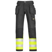 Pantalon haute visibilité en coton, Classe 1