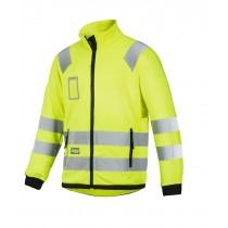Veste micropolaire haute visibilité, Classe 3 jaune