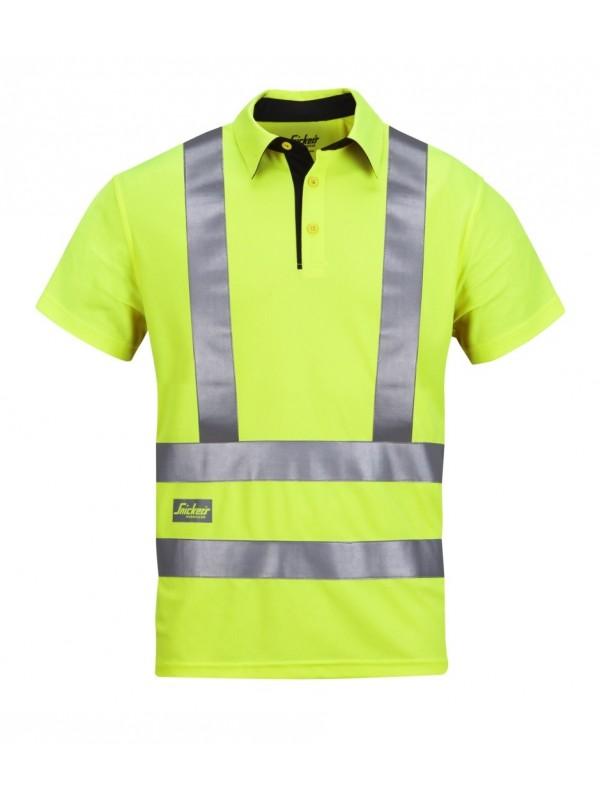 T shirt A.V.S haute visibilité, Classe 2 et 3 jaunne