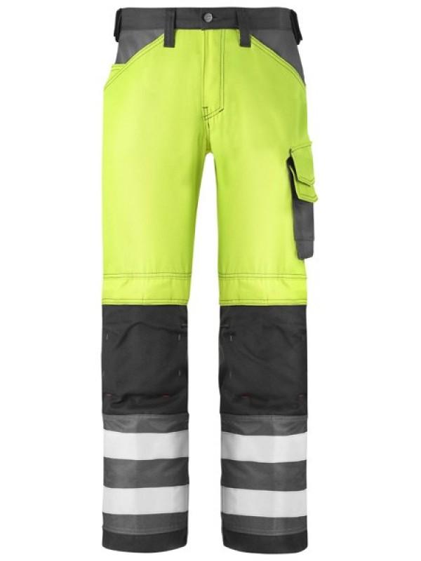 Pantalon haute visibilité classe 2 jaune