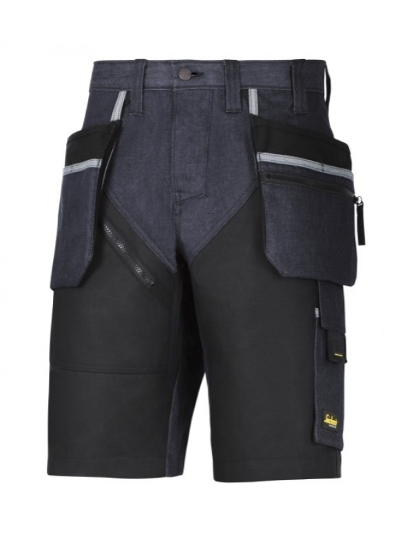 Short avec poches holster+, RuffWork Denim SNICKERS 6104
