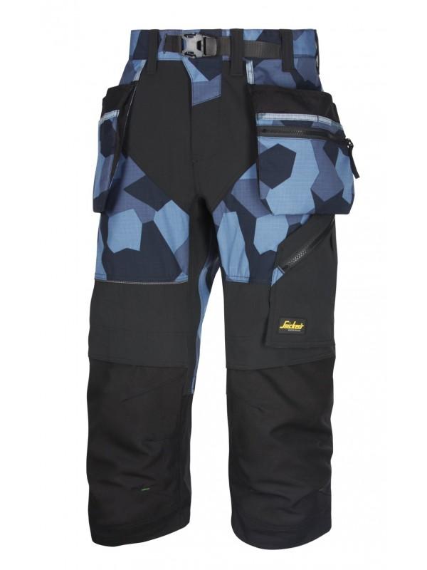 Pantacourt poches holster+, FlexiWork Marine