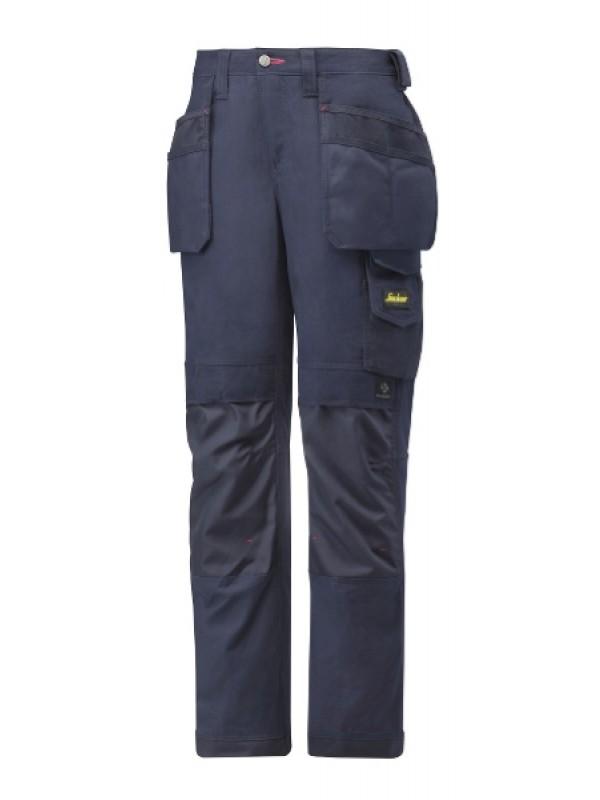 Pantalon pour femmes avec poches holsters, Canvas+ marine