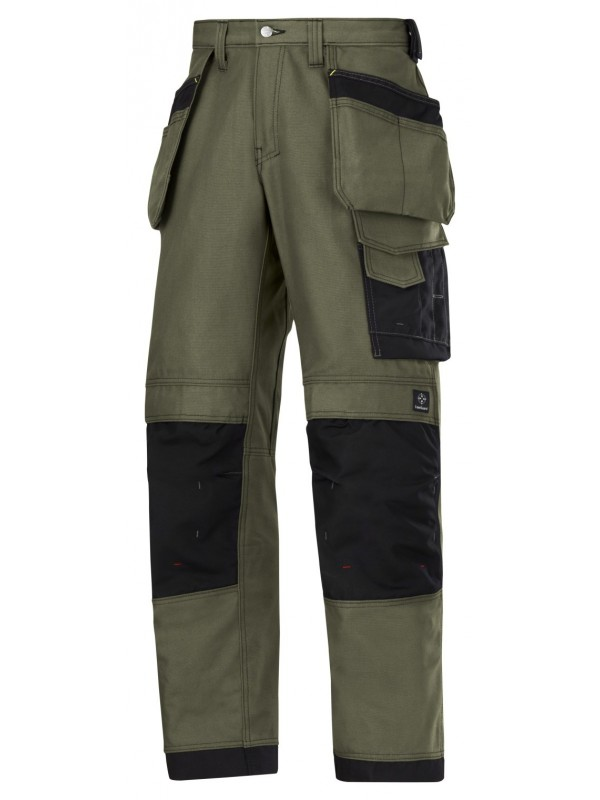 Pantalon d'artisan avec poches holster, Canvas+ SNICKERS 3214