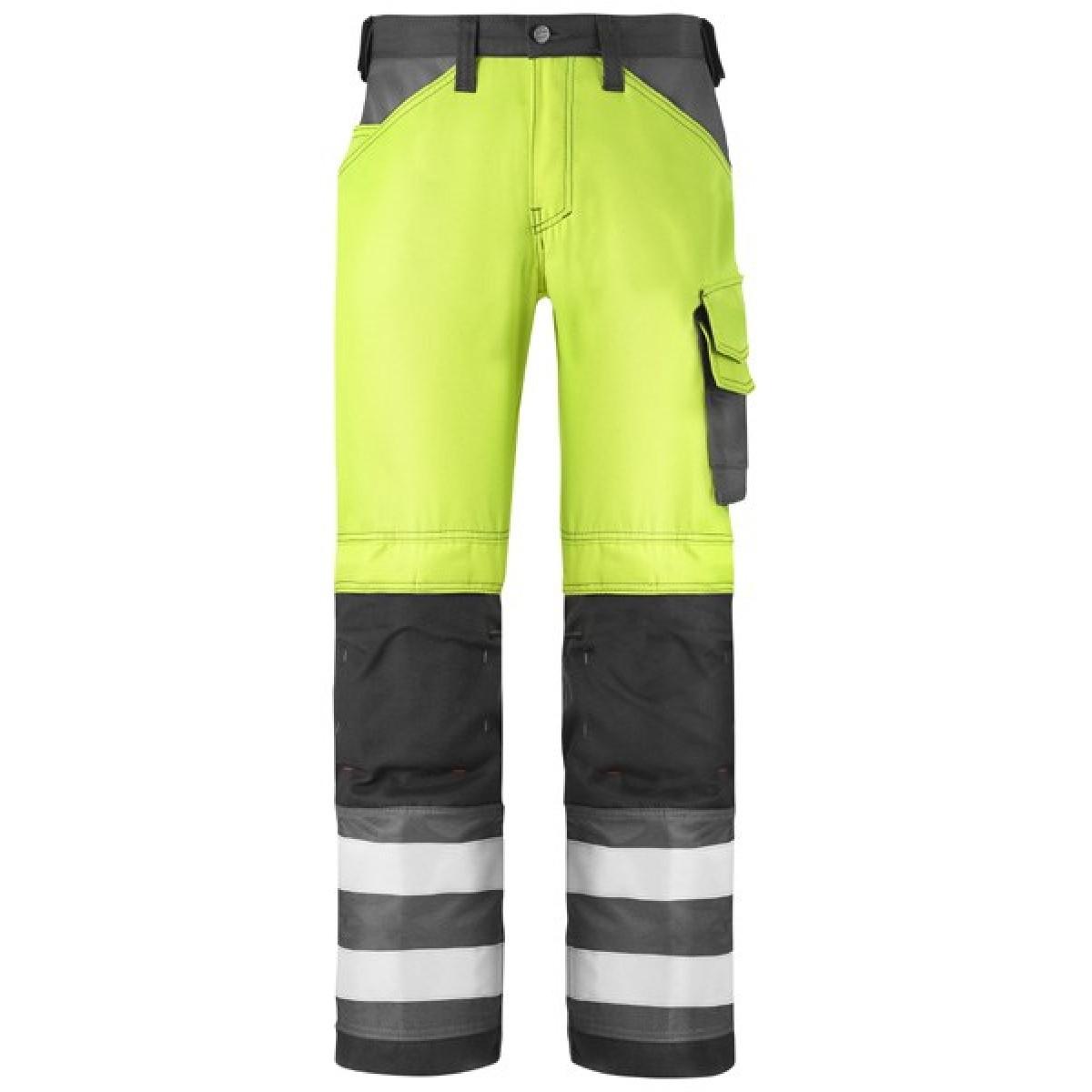 960b6df3728 Pantalon haute visibilité classe 2 jaune