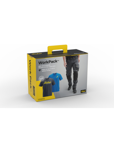 Pack Pantalon 6341 Série 6 + lot de 2 tee-shirts 2522 SNICKERS