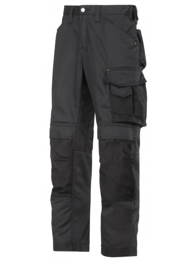 Pantalon d'artisan en cooltwill noir
