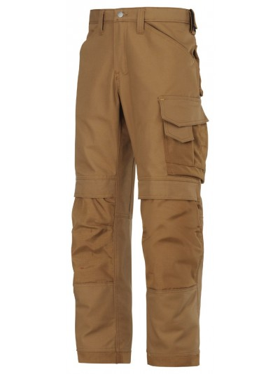 Pantalons d'artisan Canvas + marron