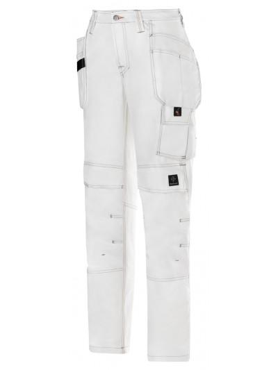 Pantalon de peintre pour femme avec poche holster