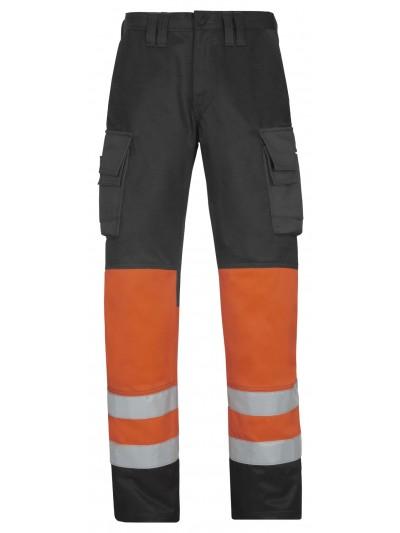 Pantalon haute visibilité, Classe 1 orange