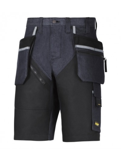 Short avec poches holster+, RuffWork Denim SNICKERS 6104