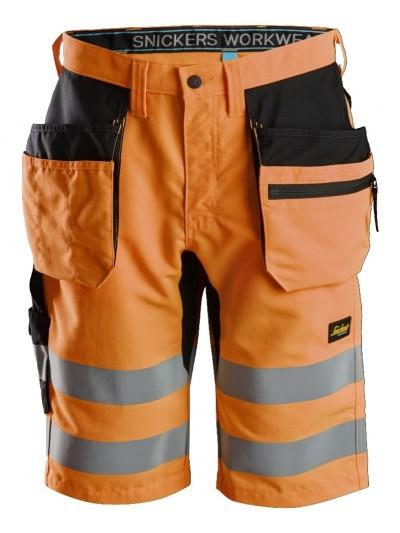 Short+ haute visibilité avec poches holster, LiteWork, Classe 1 SNICKERS 6131