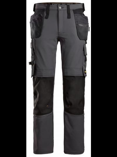 AllroundWork, Pantalon en tissu extensible avec poches holster 6271 SNICKERS