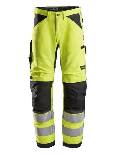 Pantalon de travail+ haute visibilité, LiteWork, Classe 2 SNICKERS 6332 Série 6