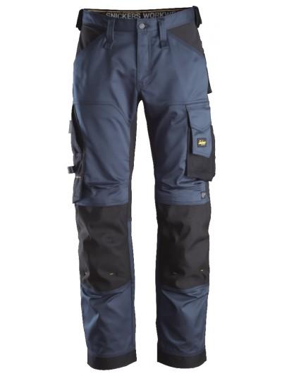 Pantalon de travail en tissu extensible à la coupe large SNICKERS 6351 Série 6