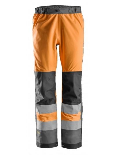 Pantalon imperméable haute visibilité, AllroundWork, Classe 2 SNICKERS 6530
