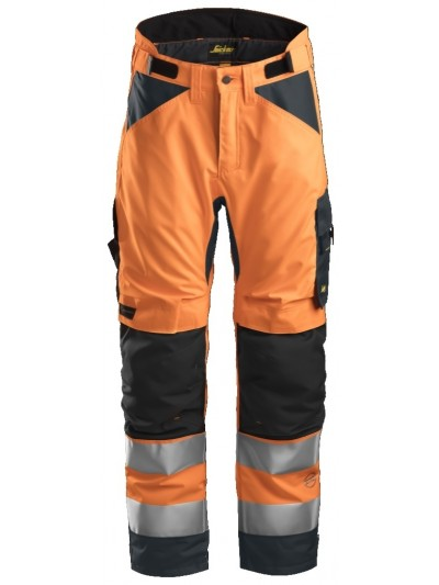 Pantalon d'hiver 37.5 haute visibilité, AllroundWork, Classe 2 SNICKERS 6639 Série 6