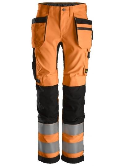 Pantalon+ haute visibilité pour femme avec poches holster, Classe 2 SNICKERS 6730 Série 6