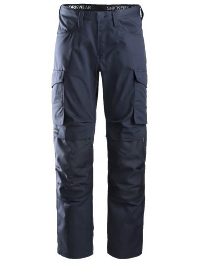 Pantalon de service avec poches pour genouillères SNICKERS 6801 Série 6