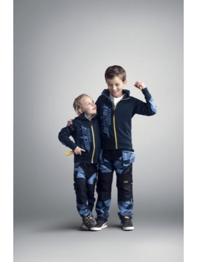Pantalon camo junior, FlexiWork SNICKERS 7505