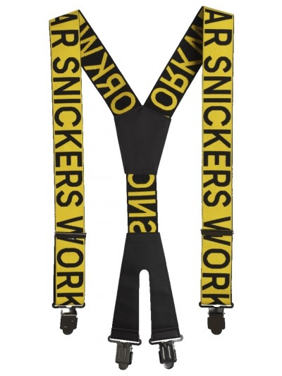 Bretelles avec logo SNICKERS 9064