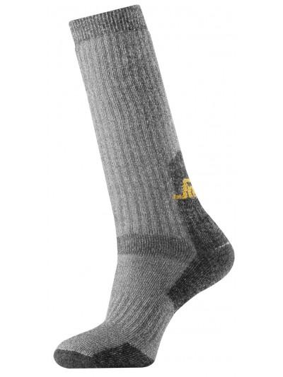 Chaussettes hautes épaisses en laine (