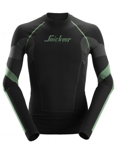T-shirt à manches longues, FlexiWork SNICKERS 9425