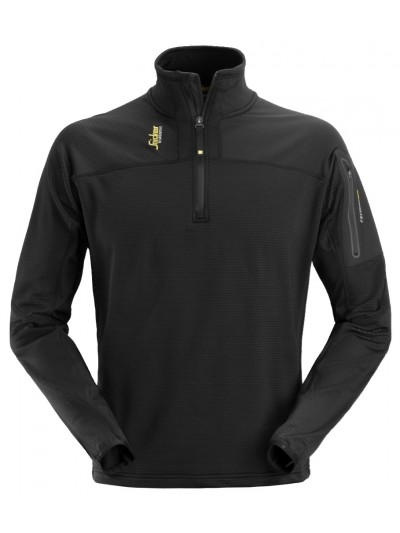 Pull-over ½ zip en micro fleece, Body Mapping SNICKERS 9435