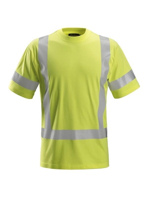 T-shirt à manches courtes, haute visibilité Classe 3 ProtecWork SNICKERS 2562