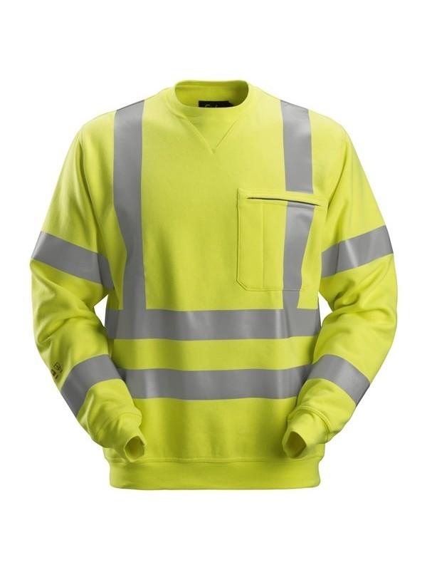 Sweat-shirt haute visibilité Classe 3 ProtecWork SNICKERS 2863
