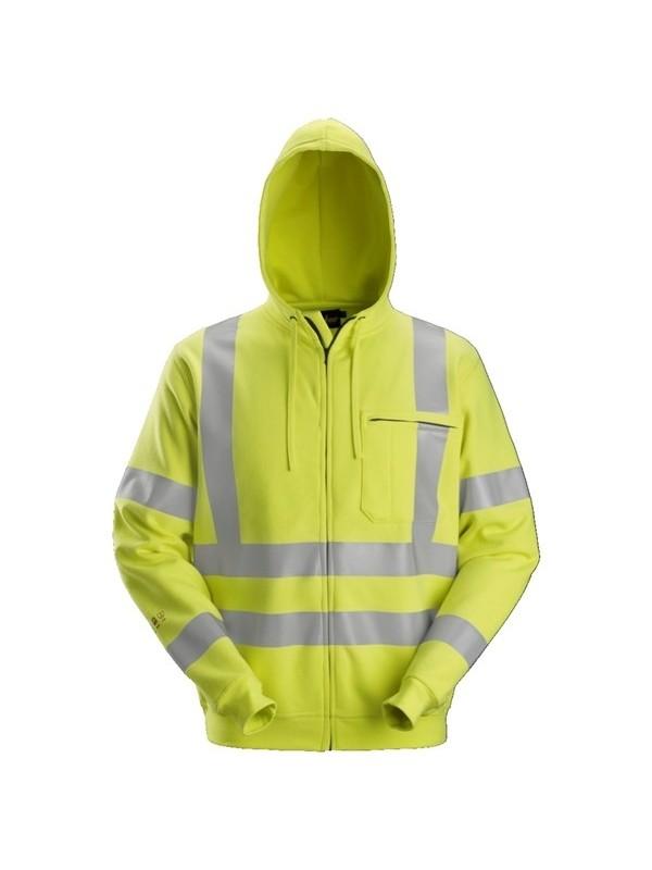 Sweat-shirt à capuche à fermeture à glissière pleine longueur Classe 3 ProtecWork SNICKERS 2865