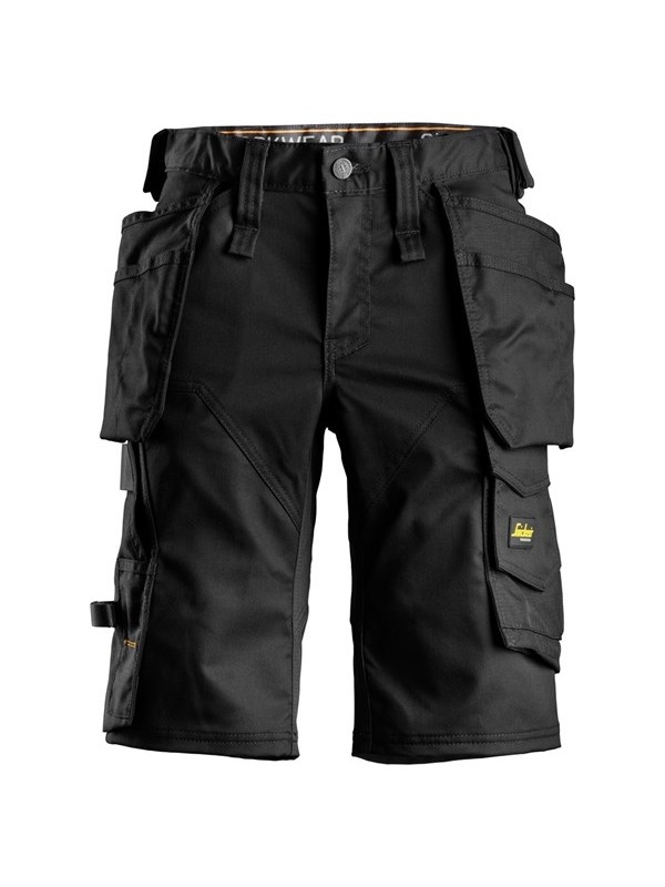 Short avec poches holster pour femme en tissu extensible AllroundWork SNICKERS 6147