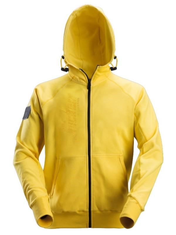 Sweat à capuche zippé avec logo SNICKERS 2880