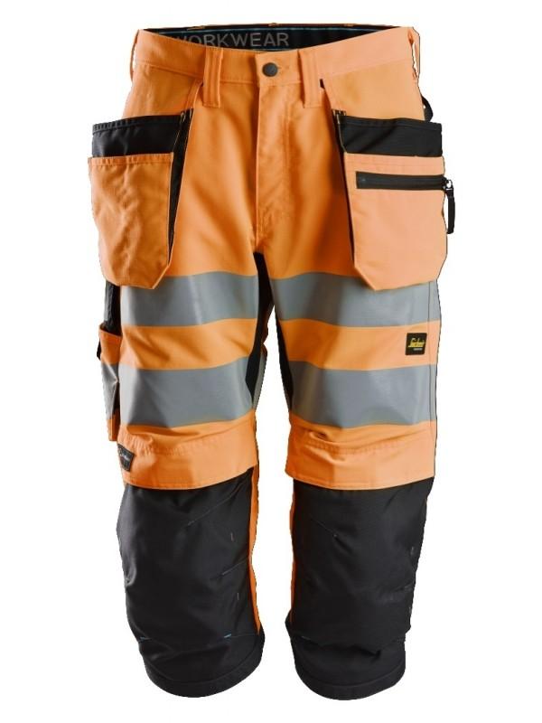 Pantacourt+ haute visibilité avec poches holster, LiteWork, Classe 2 SNICKERS 6134