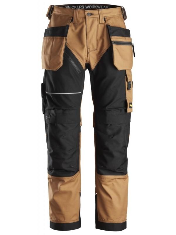 Pantalon+ avec poches holster, Canvas+  SNICKERS 6214 Série 6