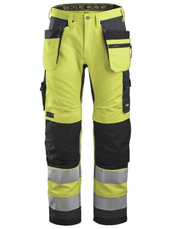 Pantalon de travail haute visibilité avec poches holster+, AllroundWork, Classe 2 SNICKERS 6230 Série 6