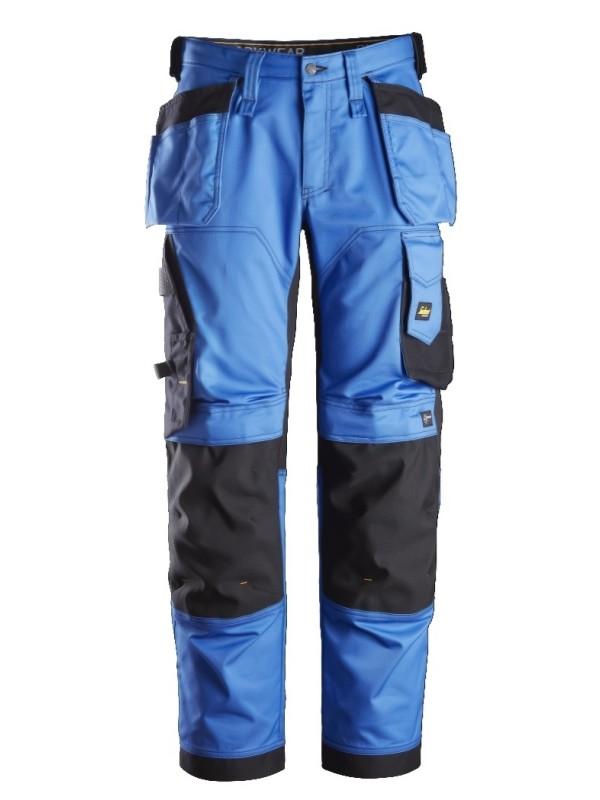 Pantalon de travail coupe large en tissu extensible avec poches holster SNICKERS 6251 Série 6