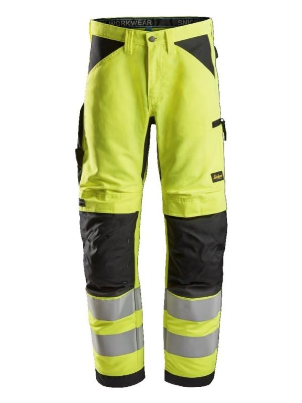 Pantalon de travail+ haute visibilité, LiteWork, Classe 2 SNICKERS 6332