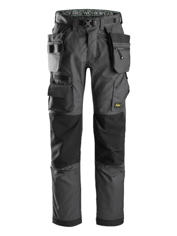 Pantalon pour poseur de sol avec poches holster+, FlexiWork SNICKERS 6923
