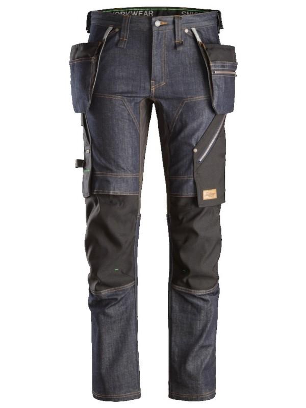 Pantalon+ en denim avec poches holster SNICKERS 6955 Série 6
