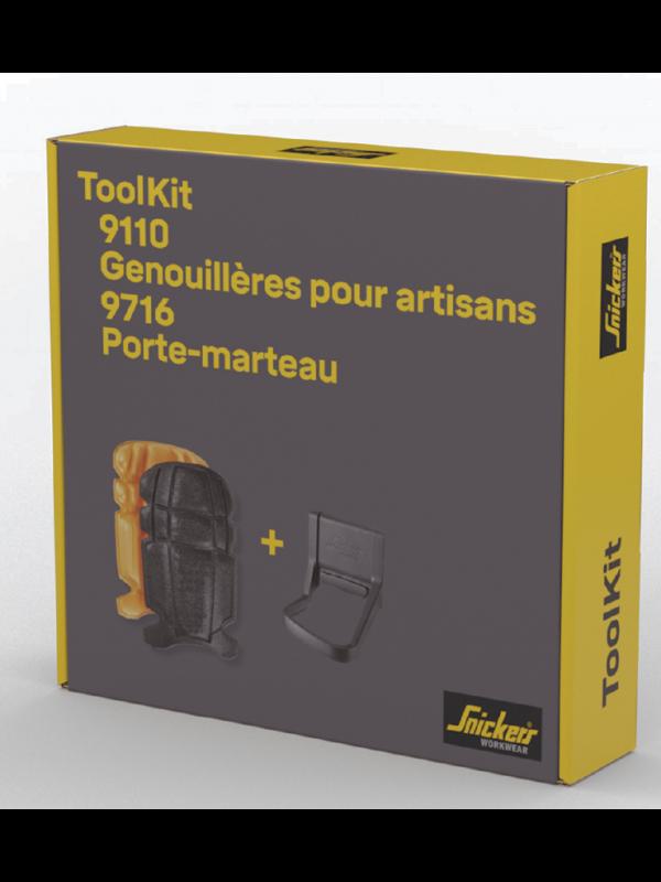 Toolkit Genouillères pour artisans et Porte-marteau SNICKERS