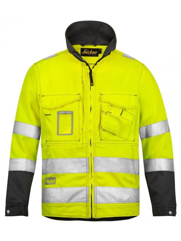 Veste haute visibilité jaune