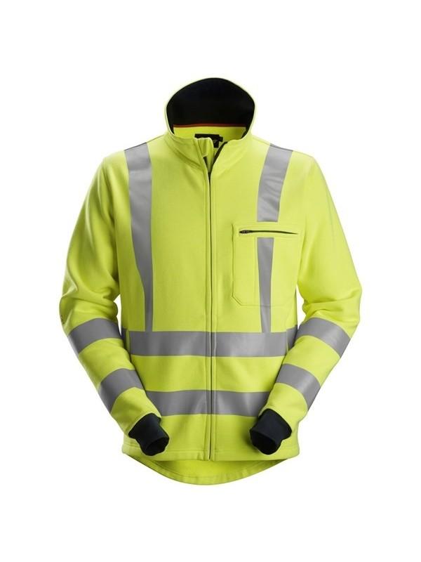 Sweat-shirt à fermeture à glissière pleine longueur haute visibilité Classe 3 ProtecWork SNICKERS 2864