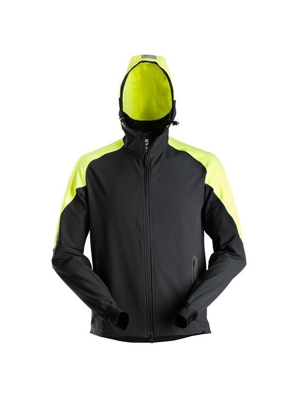 Sweat-shirt à capuche zippé en néon SNICKERS 8025