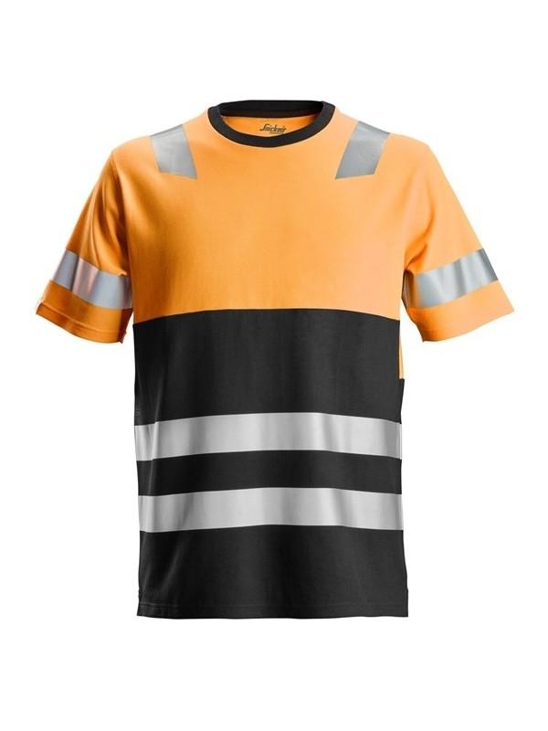T-shirt haute visibilité Classe 1 AllroundWork 2534