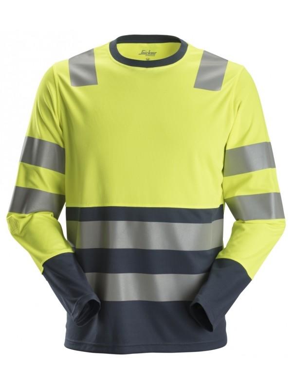 T-shirt haute visibilité avec longues manches SNIKCERS 2433