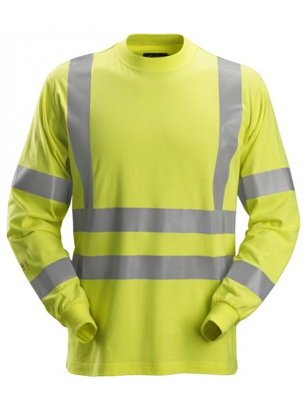 T-shirt à manches longues, haute-visibilité, Classe 3 ProtecWork SNCIKERS 2461